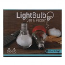Light Bulb Salt & Pepper Shakers