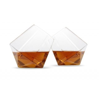 Diamond Whiskey Glass Set (2 pcs)
