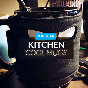 Kitchen mugs and novelties