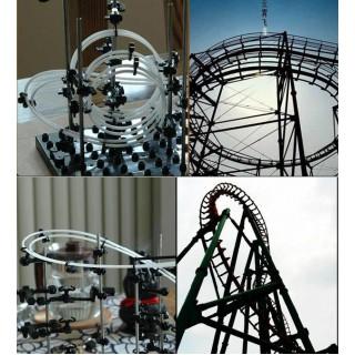 Space Coaster DIY Rollercoaster